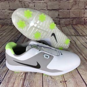 NIKE Vapor Pro BOA White/Volt Golf shoes